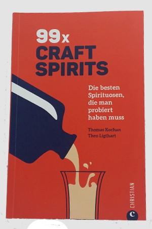 """Buch """"99 x Craft Spirits - Die besten Spirituosen, die man probiert haben muss"""""""