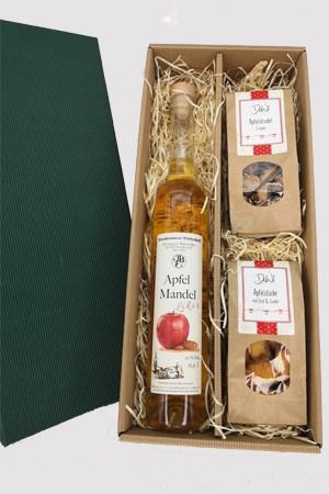 Apfel-Mandel-Likör, fruchtige Pause - Geschenksortiment 2