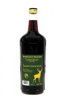 0,7 l Jagdtropfen Kräuterlikör Glasflasche 35 % Vol.