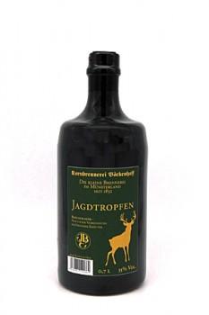 0,7l Jagdtropfen Kräuterlikör Tonflasche 35% Vol.