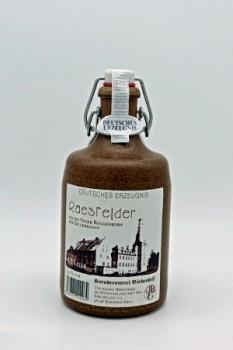 0,5l Raesfelder Tonkrug 32% Vol.